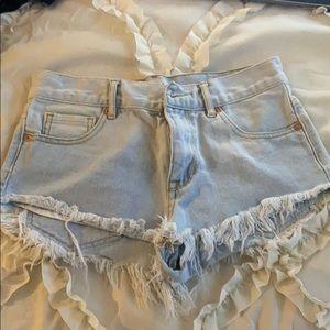 Bullhead Cut Off Jean Shorts